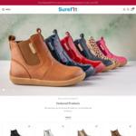 Website Launch Discount 20% + $9.95 Delivery ($0 with $99 Spend) @ Surefit (Children's Footwear)