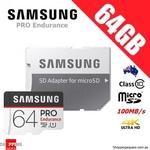 Samsung Pro Endurance 64GB microSD $21.95 + Delivery @ Shopping Square