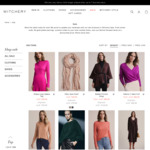 Up to 70% off Sale Items (from $4.95) + Free Delivery over $50 @ Witchery