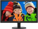 "Philips 243V5QHABA 24"" LCD Monitor $152.65 Delivered @ Harris Technology via Amazon AU"