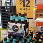 4 Pines Pacific Ale $48 a Case (24 Pack) @ Liquorland