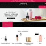 15% Off with $50+ Spend  + Free Shipping @ Lancome,YSL Beauty, 15% off With $100+ Spend + Free Shipping @ Armani Beauty
