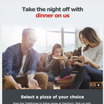 Free Domino's Pizza (from Budget Direct email)