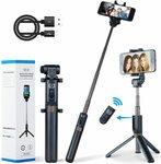 Apexel Selfie Stick Bluetooth Monopod $23.19 (20% off) + Delivery ($0 with Prime/ $39 Spend) @ Aipai Optic via Amazon AU