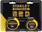 Stanley Fatmax Tape Pack 8m & 5m - $28.84 + $12.50 Freight (Free C&C) @Blackwoods
