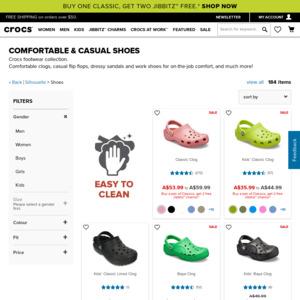 Crocs Australia: Deals, Coupons and