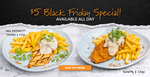 [NSW, ACT, QLD] $5 Schnitty & Chips or Mini Rashay Chicken & Chips @ Rashays (Max 6 Per Person)
