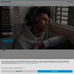 Sennheiser HD 458BT $149.95 Delivered (+20% ShopBack Cashback) @ Sennheiser Australia