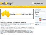 Net Origin - 12 Months of Web Hosting for $9.95