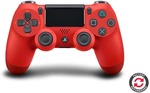 [PS4, Refurbushed] Red DualShock $45 + Delivery (Free Delivery with Kogan First) @ Kogan
