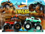 Hot Wheels FYJ64 Monster Trucks Demo Doubles 2-Pack $7.69 + Delivery ($0 with Prime/ $39 Spend) @ Amazon AU