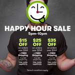 $15 off orders $149+, $25 off $249+, $35 off $349+ & free shipping @ Vinomofo
