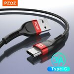 PZOZ USB Type C Cable .25m US$0.99 (A$1.28), .5m US$1.29 (A$1.70), 1m US$1.49 (A$1.96) Delivered @PZOZ Official Store AliExpress