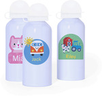 Personalised 'Ice Blue' Drink Bottles $12.48 (50% off) + Delivery (Free Pick up Geelong) @ Stuck on You
