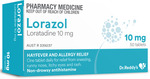 50x Lorazol, (Generic Claratyne) Loratadine 10mg Tablets $9.49 Delivered @ PharmacySavings