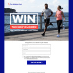Win Two $500 Vouchers from The Athlete's Foot