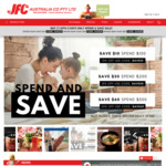 [VIC] 10% off $100 Spend, 15% off $200, 20% off $300, Minimum $50 Order + Delivery ($0 C&C/ $150 Spend) @ JFC Online