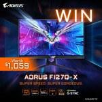 Win an AORUS FI27Q-X QHD 240Hz Gaming Monitor Worth $1,059 from Centre Com
