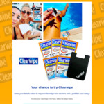 Free Pack of Clearwipe Lens Cleaners + Portable Case Delivered @ Clearwipe (Instagram Req.)