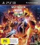 PS3/Xbox 360 Ultimate Marvel Vs Capcom $29 @ JB Hi-Fi