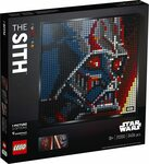 LEGO Art Star Wars The Sith 31200 Building Kit $89.25 Delivered @ Amazon AU