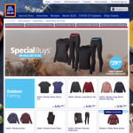 ALDI Ultralight Down Jacket $50, Ultralight Down Vest $30, Merino Thermal Underwear $30/pc