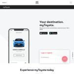 10% off Expedia for Toyota Vehicle (2001 and Later) Owners @ My Toyota (Registration required)