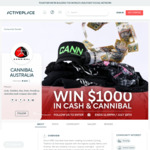 Win $1,000 in Cash & Cannibal Products from ActivePlace