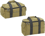 Assorted Canvas Camping Bags $19.99, Cast Iron Grill or Frypan $14.99 @ ALDI