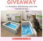 Win a Petsafe ScoopFree Self-Cleaning Litter Box (Worth $229) from Bargain Boss