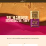 Win 1 of 100 Whittaker's Peanut Butter & Jelly Blocks from Whittaker's