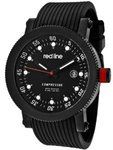 Red Line Compressor Black Dial Black Silicone Watch $60 AUD Delivered from Amazon US