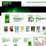 Hoyts Kiosk Free Movie Rental Code for 2nd JAN 2013