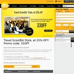 Flyscoot 33% off All ScootBiz (Business Class) Flights on Selected Dates