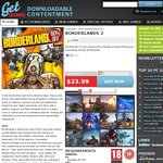 Borderlands 2 PC $23.99 from GetGames