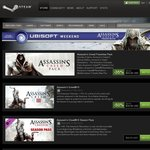 Steam Ubisoft Sale - Assassin's Creed (50-75% Off) From $4.99