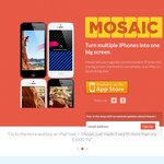 Mosaic for iOS Free, Share Multiple iOS Devices as One Screen