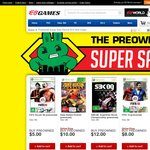 Preowned Sale (Prices From $1) @EB Games (May 9 Only)