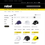 Nike & Puma Caps (Adidas out-of-Stock): $5 (Free Shipping) @ Rebel Sport