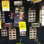 Various Aussie Flag Sticker 10c/Pack at Woolworths