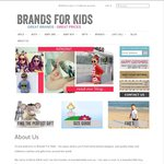 Join BRANDS FOR KIDS Club and Get 20% off Your Order