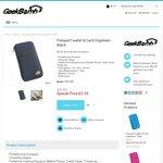 $3.35 Passport & Travel Wallet (SOLD), $39.95 Multi-Purpose Holder + Free Shipping @Geekbomb