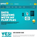 Optus New Plans Allow Data Sharing Upto 5 Devices with $5 One off Per Device