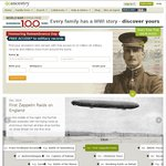 Free Access: Global Military Collections at Ancestry.com.au until 11 November 2014