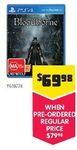 Bloodborne PS4 Preorder for $70 @ Dick Smith