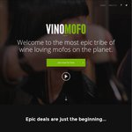 $100 Vinomofo Credit ($180 Min Spend Plus Shipping, New Users Only) Works with Referral Credit