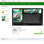 Xbox DIRT 3 VIP Pass - FREE for Xbox Gold Members. Normally $9.95
