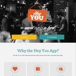 """""""Hey You"""" App 25% off Orders This Week 7/3/16-13/3/16 Code"""