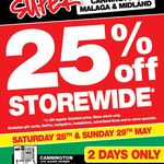 AutoBarn - 25% off Storewide This Sat & Sunday - WA (Maybe Other States) ?