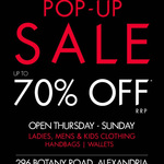 Guess Popup Sale - up to 70% off Alexandria, NSW